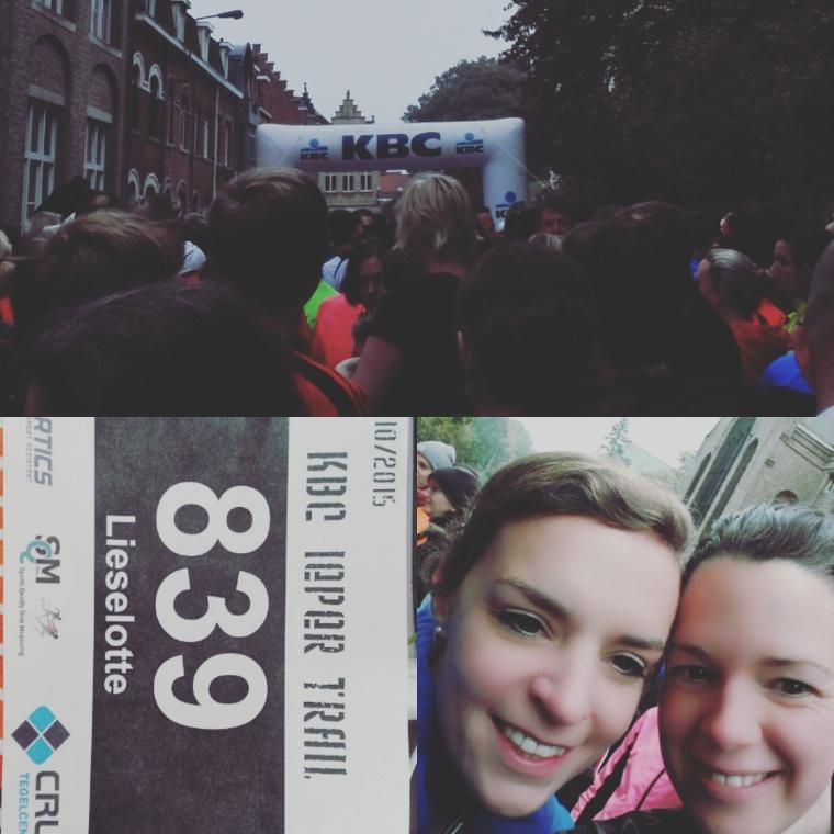 18 oktober 2015: 6 maanden na mijn bevalling loop ik voor het eerst 8,5 km.